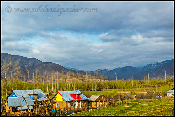 Landscape on the way to Kokernag
