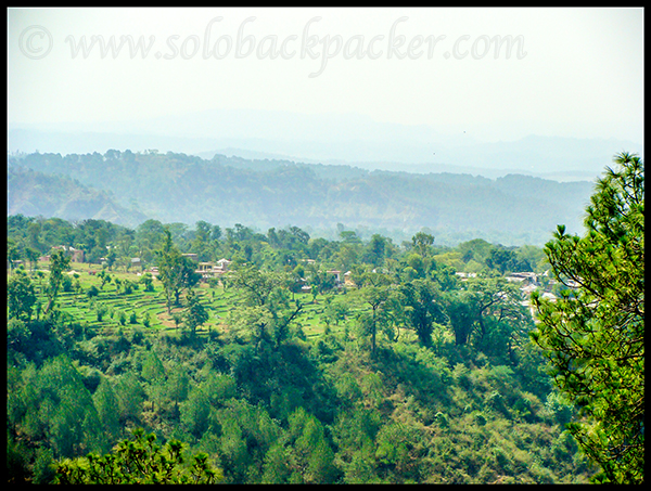 A Beautiful Village in Kangra Valley