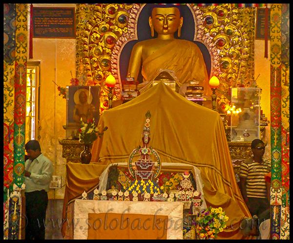 Inside Tsuglagkhang Temple