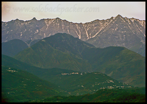 McLeodganj & Dharamshala in The Lap of Dhauladhar Mountains