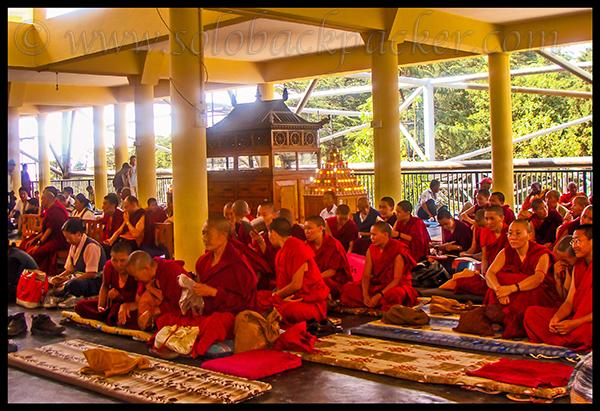 Gathering of Buddhist Monks