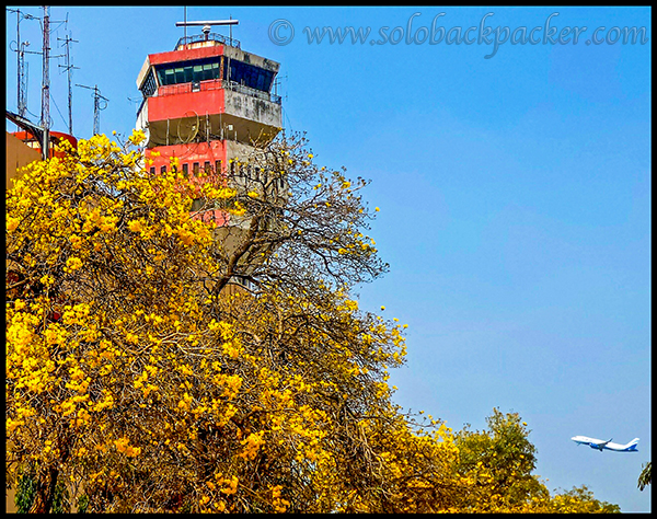 Air Traffic Control Tower at IGI Airport, New Delhi
