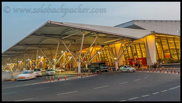 Terminal 3 of Delhi Airport