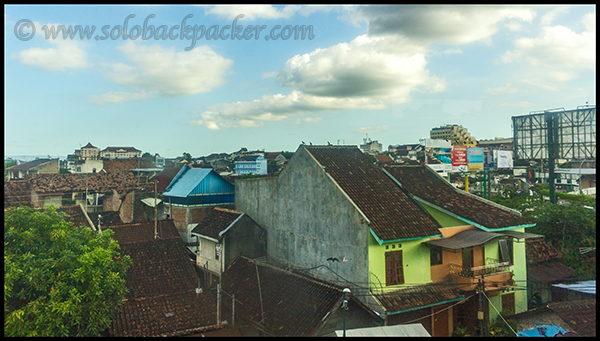 First Glimpse of Yogyakarta City