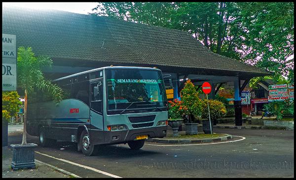 Bus at the Jombor Bus Terminal