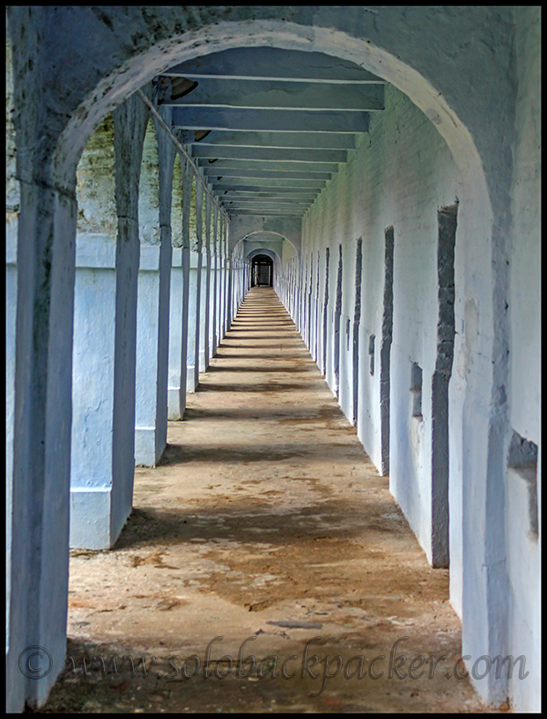 A Corridor of The Cellular Jail