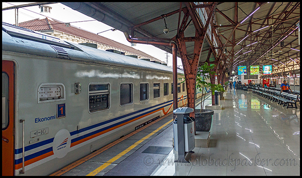 Railway Platform at Pasar Senen