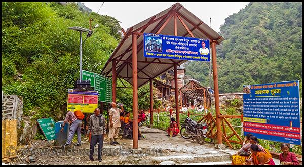 The Starting Point of the trek @Gaurikund