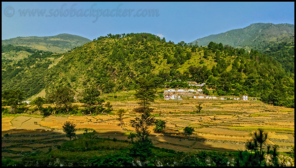 Landscape on the way to Guptkashi
