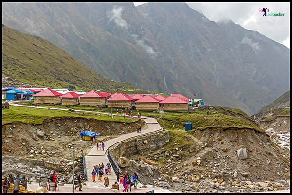 Newly Constructed GMVN Cottages at Kedarnath