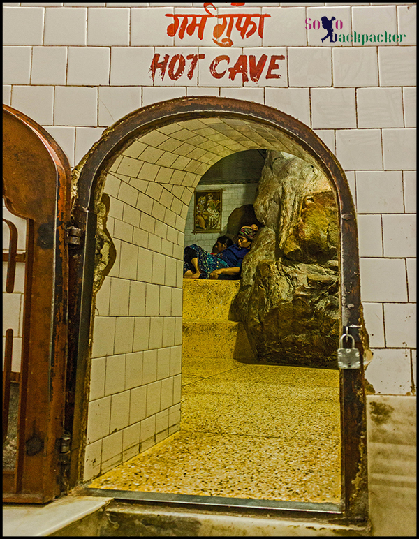 Hot Cave at Manikaran Gurudwara