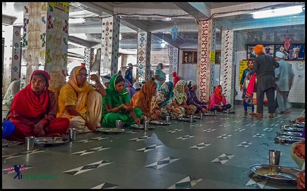 Langar at Manikaran Gurudwara