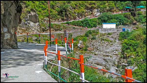 Newly Built Trekking Route to Kedarnath