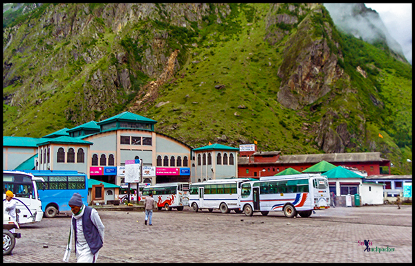 Bus Stand at Badrinath