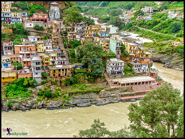 Devprayag, where The Bhagirathi becomes The Ganges