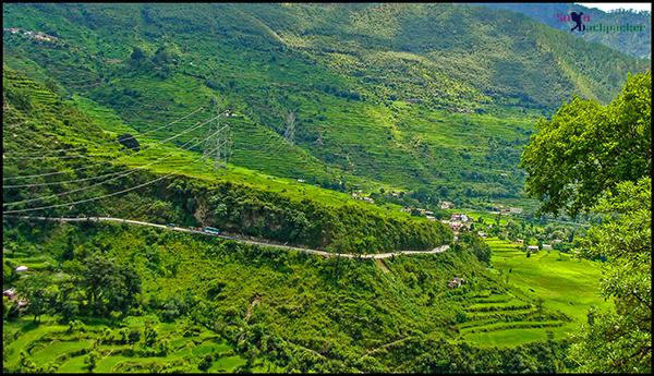 Beautiful Valley around Joshimath