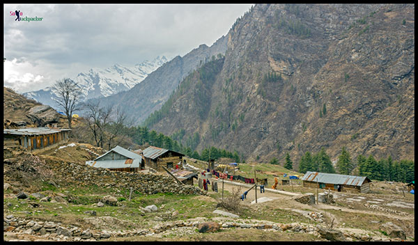 Accommodation Options at Kheerganga