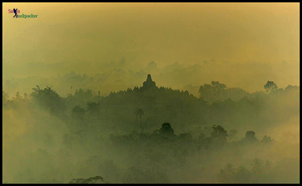 Borobudur Revealing its Bell Shape